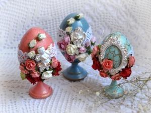Создаем милый пасхальный сувенир. Ярмарка Мастеров - ручная работа, handmade.