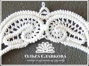 Осваиваем румынское кружево: учимся делать бриды. Ярмарка Мастеров - ручная работа, handmade.
