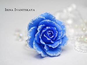 Мастер-класс: имитация снега из полимерной глины. Ярмарка Мастеров - ручная работа, handmade.