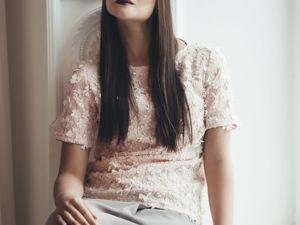 «Распродажа блуз Цветы». Ярмарка Мастеров - ручная работа, handmade.