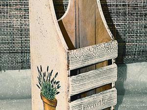Декорируем короб для кухни в стиле Прованс. Ярмарка Мастеров - ручная работа, handmade.