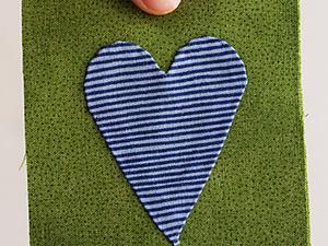 Ещё один способ пришивания аппликации. Ярмарка Мастеров - ручная работа, handmade.