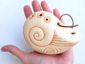 Звучание окарины  «Песня моря большая». Ярмарка Мастеров - ручная работа, handmade.