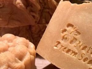 «Золушка»  хозяйственное мыло с горчицей и морской солью. Ярмарка Мастеров - ручная работа, handmade.