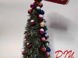 Создаем новогоднюю елку с парящим стаканчиком. Ярмарка Мастеров - ручная работа, handmade.