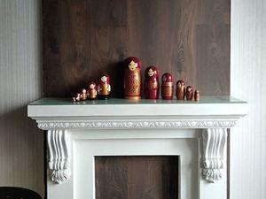 Каминный портал своими руками. Ярмарка Мастеров - ручная работа, handmade.