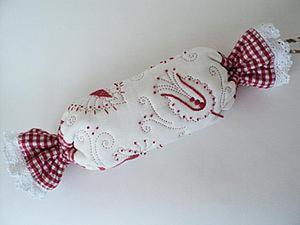 Создаём косметичку в виде конфеты в русском стиле. Ярмарка Мастеров - ручная работа, handmade.