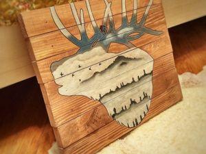 Процесс создания Оленя. Ярмарка Мастеров - ручная работа, handmade.