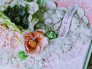 Делаем красивую открытку с нуля. Ярмарка Мастеров - ручная работа, handmade.