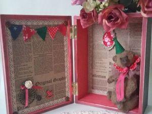 Делаем симпатичный румбокс для мишки тедди. Ярмарка Мастеров - ручная работа, handmade.