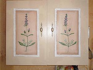 Расписываем кухонные фасады. Ярмарка Мастеров - ручная работа, handmade.