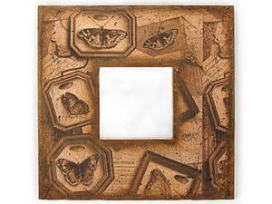 Пошаговый фото мастер-класс по декупажу зеркала в стиле Винтаж. Ярмарка Мастеров - ручная работа, handmade.