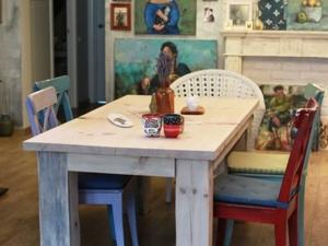 Прекрасная гостиная Арины с нашим столом. Ярмарка Мастеров - ручная работа, handmade.