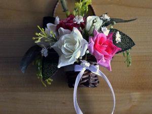 Создание миниатюрной цветочной композиции для кукольных фотоссесий. Ярмарка Мастеров - ручная работа, handmade.