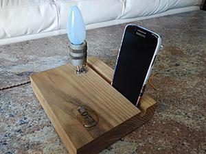 Создаем из дерева прикроватную лампу-подставку. Ярмарка Мастеров - ручная работа, handmade.
