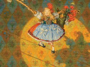 Новое прочтение старой истории: Красная Шапочка — артистка бродячего театра. Ярмарка Мастеров - ручная работа, handmade.
