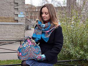 Шьем сумочку в русском стиле. Ярмарка Мастеров - ручная работа, handmade.
