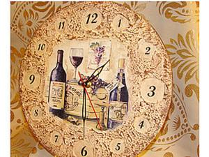 Создаем часы с рельефной пастой. Ярмарка Мастеров - ручная работа, handmade.
