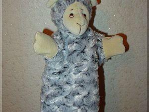 Мастер-класс: кукла-перчатка Овечка. Ярмарка Мастеров - ручная работа, handmade.