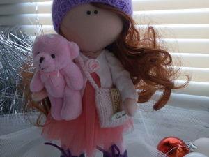Шьем тело куколки ростиком 22 см. Ярмарка Мастеров - ручная работа, handmade.