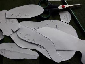 Мастер-класс: мягкая игрушка заяц. Часть 1. Ярмарка Мастеров - ручная работа, handmade.