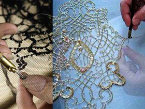 История возникновения люневильской вышивки. Ярмарка Мастеров - ручная работа, handmade.
