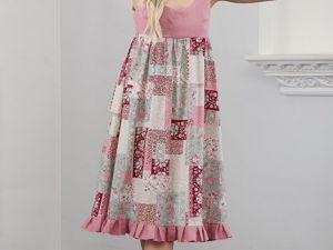 Платье Пэчворк. Ярмарка Мастеров - ручная работа, handmade.
