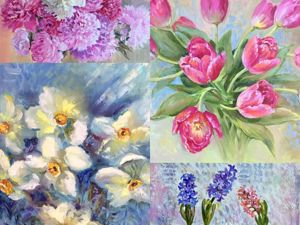 Купите цветы, купите!. Ярмарка Мастеров - ручная работа, handmade.