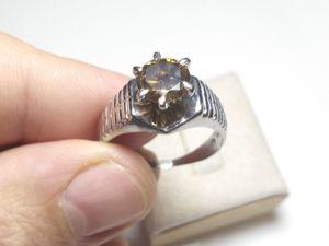 Кольцо 1 ct бриллиант — Видео обзор. Ярмарка Мастеров - ручная работа, handmade.