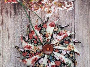 Елочная подвеска в стиле «Шебби». Ярмарка Мастеров - ручная работа, handmade.