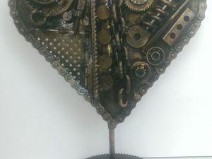 Создаем настольную композицию «Сердце механика». Ярмарка Мастеров - ручная работа, handmade.