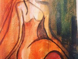 Рисуем эскиз для большой картины акрилом. Ярмарка Мастеров - ручная работа, handmade.