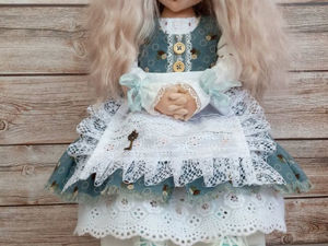 Алиса, коллекционная кукла. Ярмарка Мастеров - ручная работа, handmade.