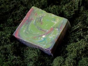 Натуральное мыло  «Волшебный лес». Ярмарка Мастеров - ручная работа, handmade.