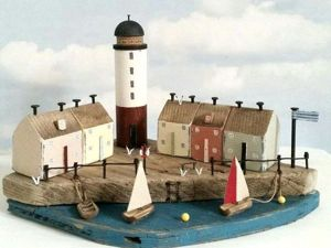 House in House: Loraine Spicknell's Miniatures Cherished by the Sea. Livemaster - handmade