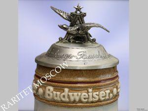РЕДКОСТЬ Кружка большая сокол сапсан олово фарфор 7. Ярмарка Мастеров - ручная работа, handmade.