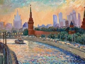 Москва — лучший город Земли! Авторские пейзажи. Ярмарка Мастеров - ручная работа, handmade.