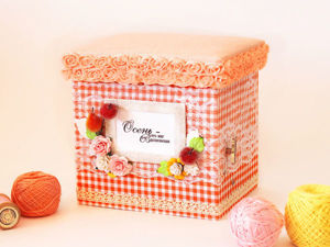«Чарующая осень»: делаем музыкальную коробочку с нуля. Ярмарка Мастеров - ручная работа, handmade.
