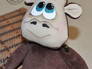 Шьем забавную обезьянку из флиса. Ярмарка Мастеров - ручная работа, handmade.