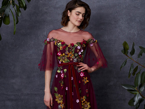 Getting Lost in a Shady Garden: Marchesa Notte Pre-Fall 2018. Livemaster - handmade