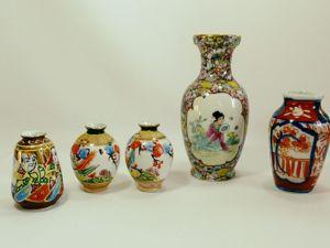 Коллекция Уникальных  Японских Вазочек. Ярмарка Мастеров - ручная работа, handmade.