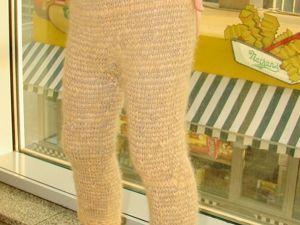 Штаны вязанные детские  пуховые со скидкой и бесплатной доставкой !. Ярмарка Мастеров - ручная работа, handmade.