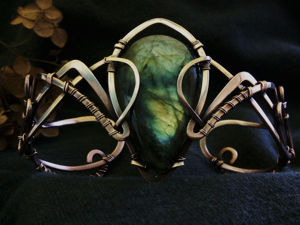 Создание браслета в двемерской тематике «Черный предел». Ярмарка Мастеров - ручная работа, handmade.