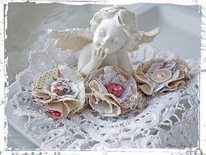 Цветы из ткани своими руками. Ярмарка Мастеров - ручная работа, handmade.