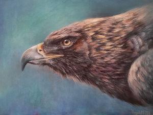 Рисуем орла: мастер-класс по живописи. Ярмарка Мастеров - ручная работа, handmade.