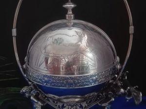 Антикварный сервер, серебрение. Ярмарка Мастеров - ручная работа, handmade.