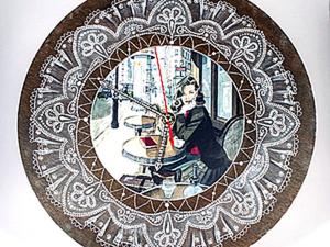 "Часы ""Мечты о Париже"". Мастер-класс от ""Base of Art"".. Ярмарка Мастеров - ручная работа, handmade."
