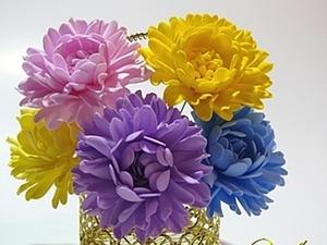 Фоамиран, маленькие цветочки. Ярмарка Мастеров - ручная работа, handmade.