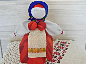 Мастерим народную куклу Берегиню. Ярмарка Мастеров - ручная работа, handmade.