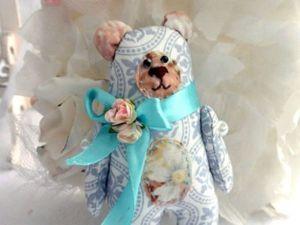 Шьем нежного текстильного мишку своими руками. Ярмарка Мастеров - ручная работа, handmade.